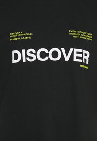 URBN SAINT - SONAR TEE - Print T-shirt - black - 2