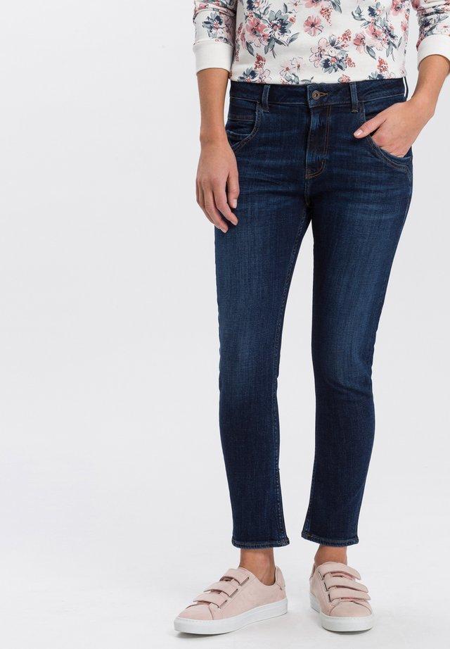 TANYA - Slim fit jeans - dark-used