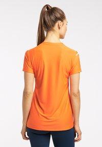 Haglöfs - Basic T-shirt - flame orange - 1