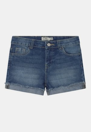 Denim shorts - federal blue