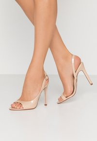 BEBO - BRISA - High heeled sandals - nude - 0