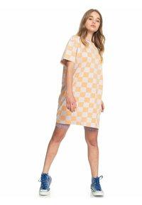 Quiksilver - Print T-shirt - chamois checker polo - 1