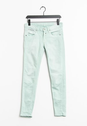 Slim fit jeans - light green