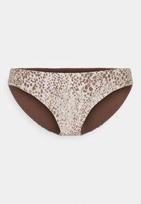 Seafolly - SERPENTINE HIPSTER - Bikini bottoms - chocolate - 4