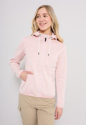 ADRIAN - Zip-up sweatshirt - rosenrot