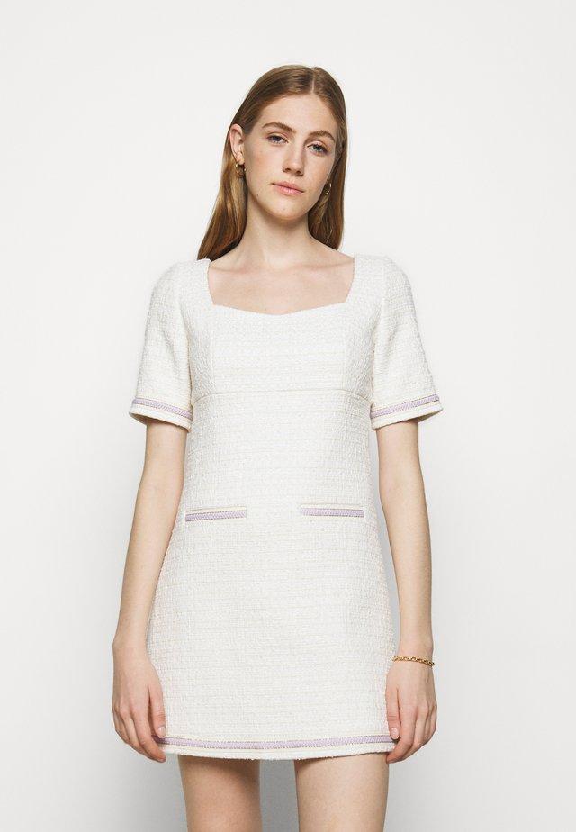 RANESSA - Korte jurk - ecru
