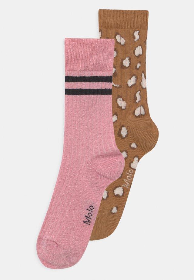 NOMI 2 PACK UNISEX - Ponožky - brown