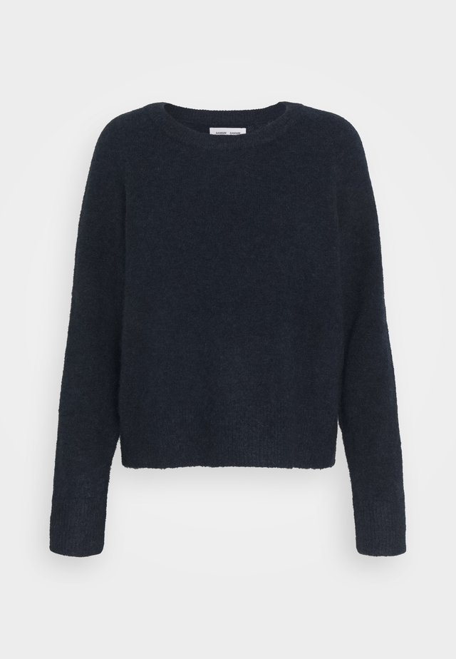 Jumper - dark blue melange