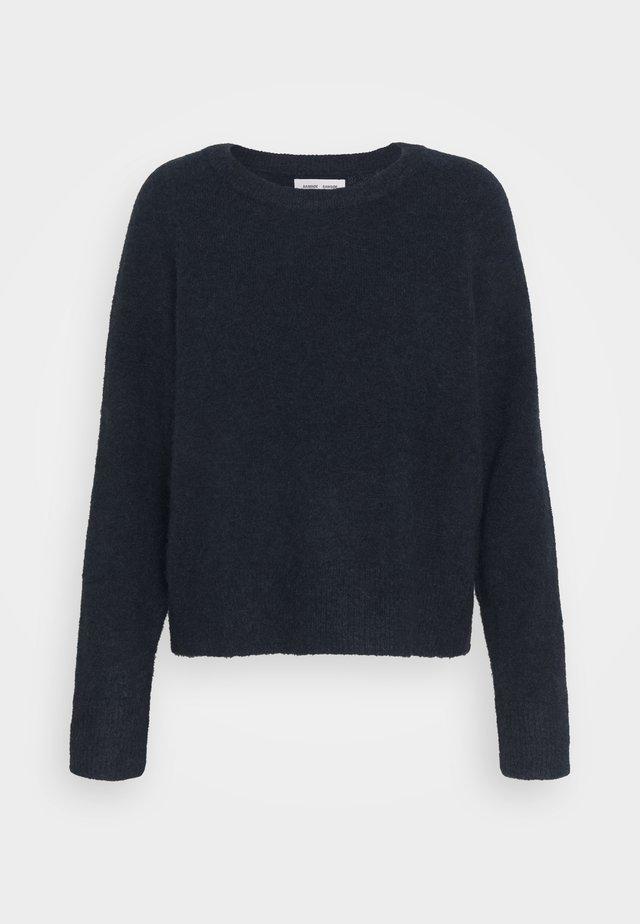 Pullover - dark blue melange
