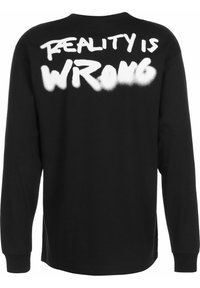 Chi Modu - REALITY 3 - Long sleeved top - black/print white - 1