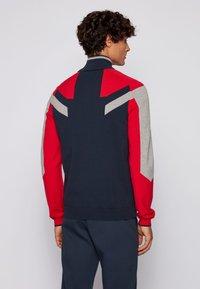 BOSS - Zip-up hoodie - dark blue - 2