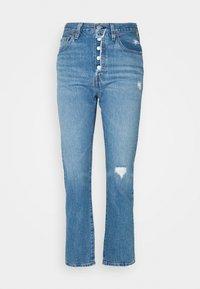 Levi's® - 501 CROP - Jeans straight leg - athens adventure - 3