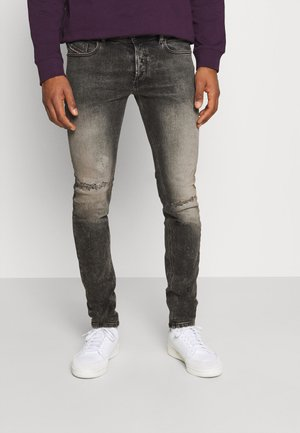 SLEENKER - Jean slim - grey denim