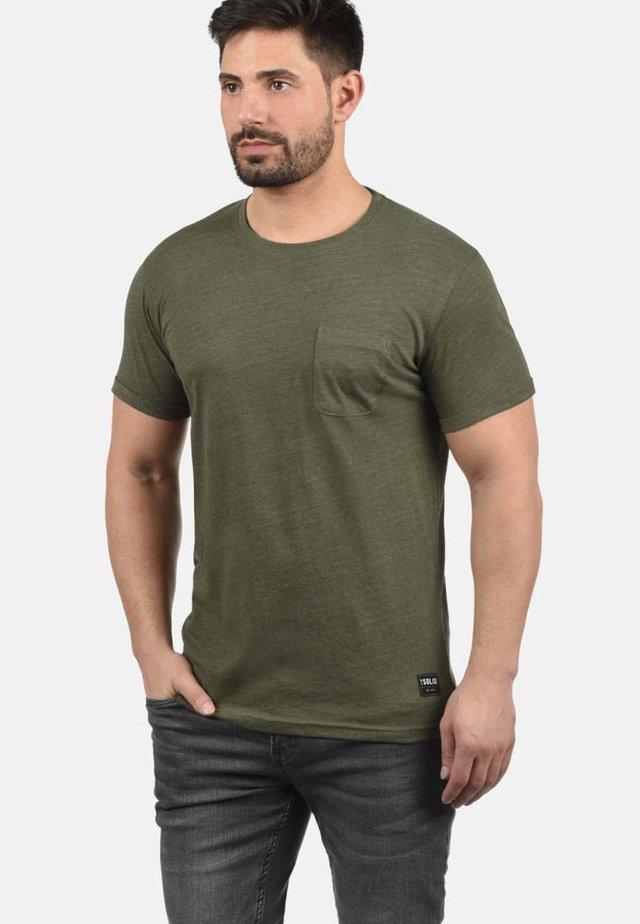 T-shirt basic - ivy green