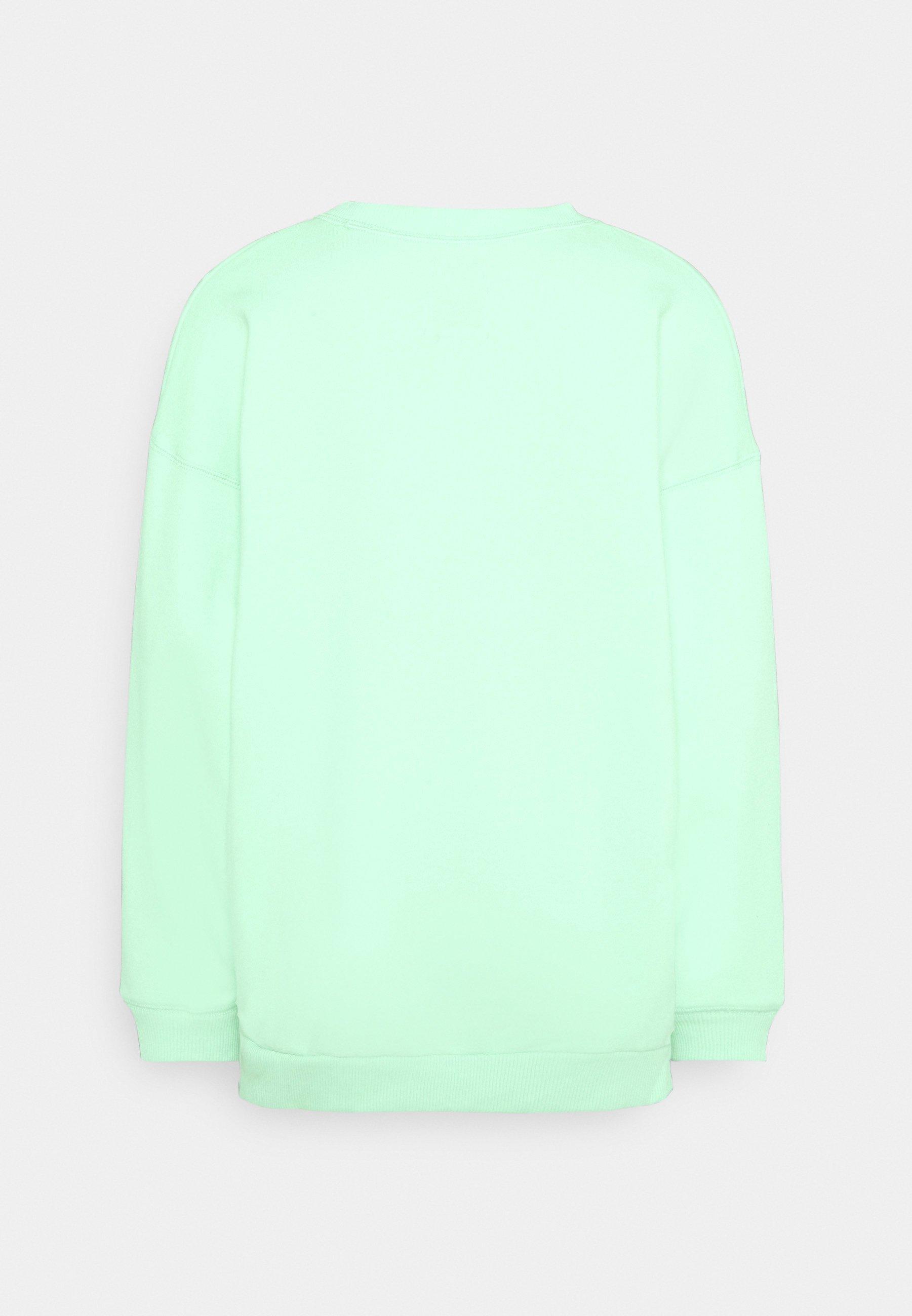 Women SOLID RAGLAN CREW - Sweatshirt