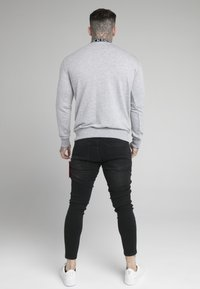SIKSILK - ESSENTIAL HIGH NECK - Mikina - grey - 2