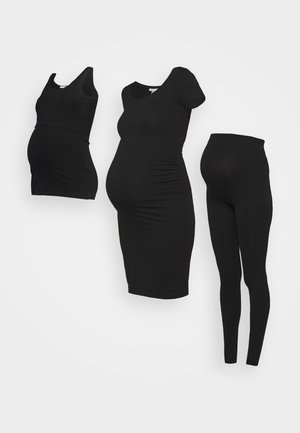 NURSING SET - Leggings - Trousers - Leggingsit - black