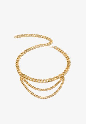 LISA CHAIN BELT - Bælter - ligth gold-coloured