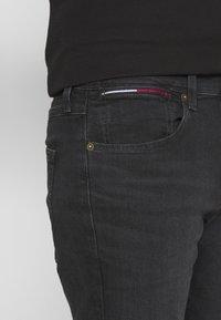 Tommy Jeans - MILES - Slim fit jeans - max black - 4