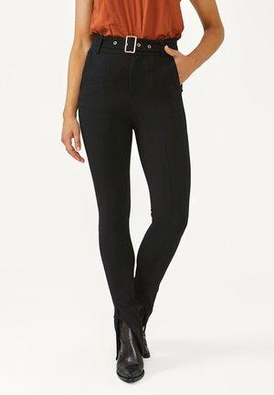 PAZEL - Trousers - black