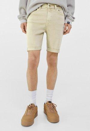 Jeansshorts - beige
