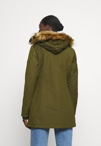 Marc O'Polo - THERMORE SHAPED FIX HOOD FRONT ZIP - Light jacket - natural olive - 2