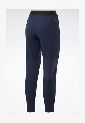 UNITED BY FITNESS WOVEN JOGGERS - Pantalones deportivos - blue