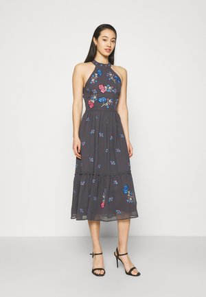 ALANNA MIDI - Cocktail dress / Party dress - dark grey