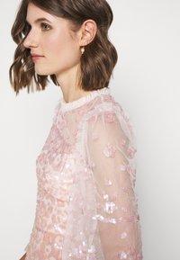 Needle & Thread - PATCHWORK DRESS - Cocktail dress / Party dress - ballet slipper/pink - 3