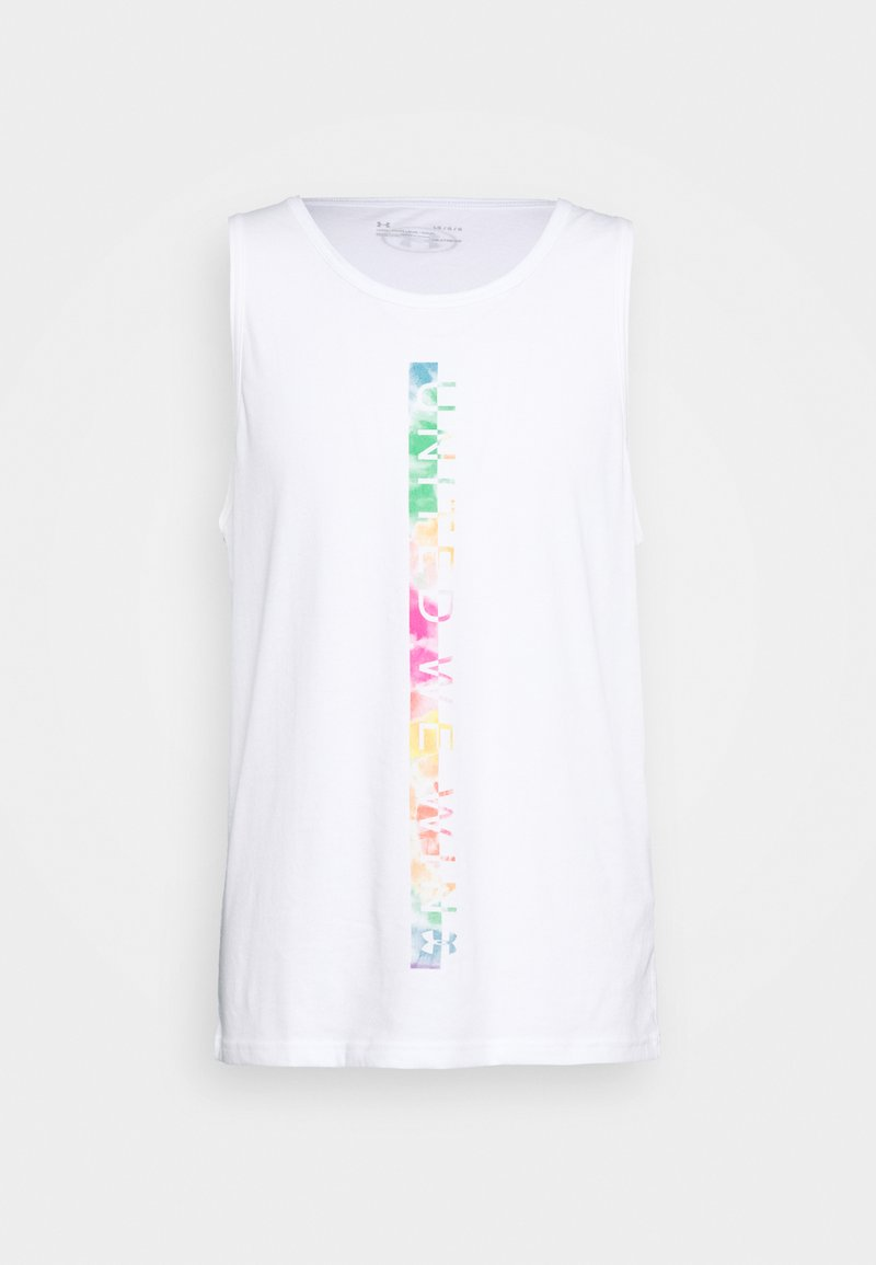 Under Armour - PRIDE TANK - Top - white/black
