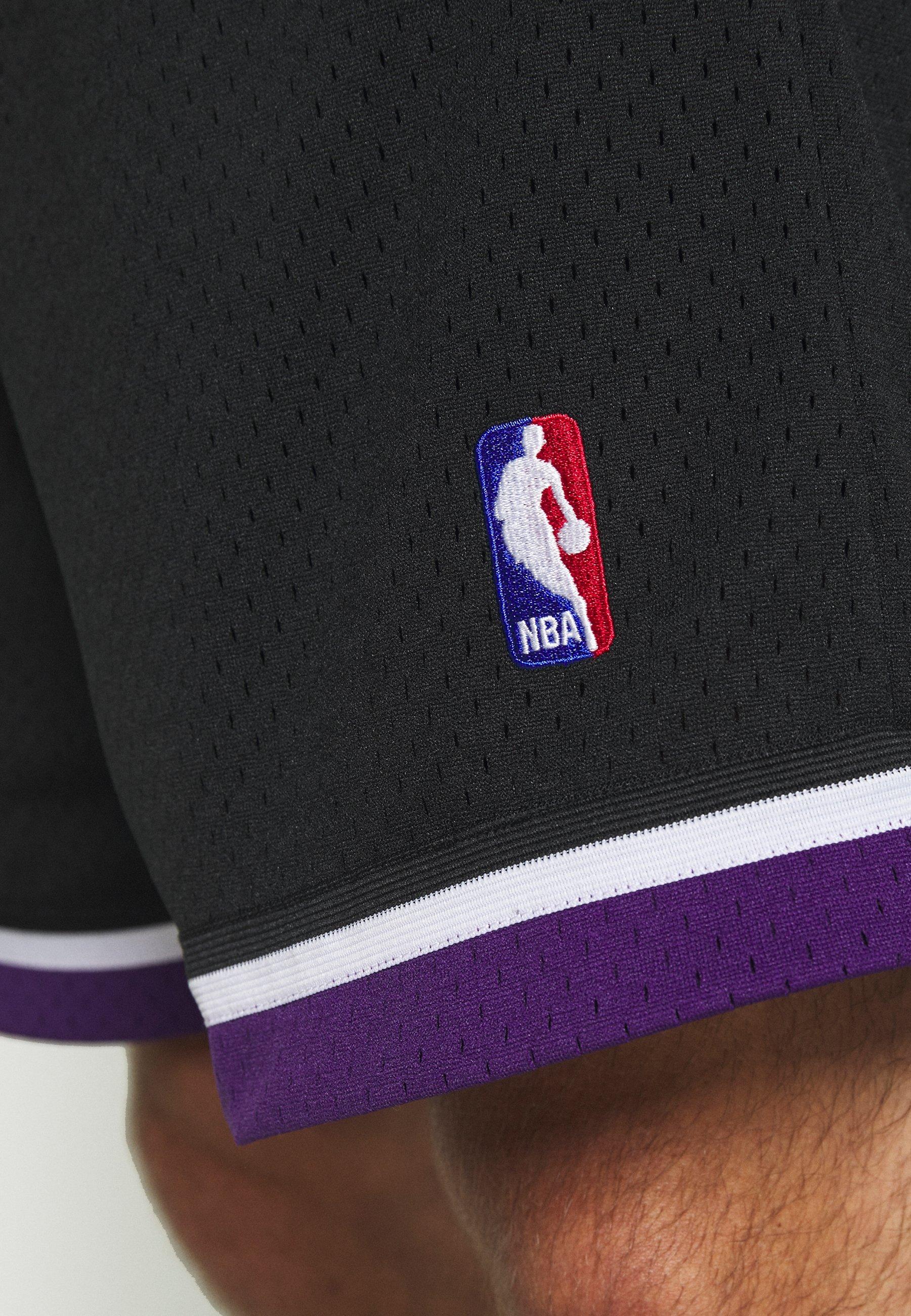 Auténtico Ropa de hombre Mitchell & Ness NBA SWINGMAN SHORTS SACRAMENTO KINGS Pantalón corto de deporte black uwoG5a