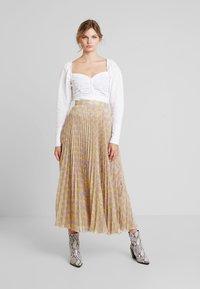 Birgitte Herskind - NESSA SKIRT - A-line skirt - yellow - 1