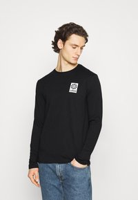 Zign - UNISEX - Long sleeved top - black - 3