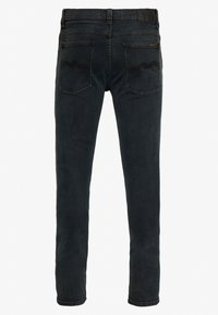 Nudie Jeans - TIGHT TERRY UNISEX - Džíny Relaxed Fit - black balance - 1