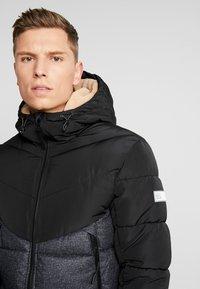 TOM TAILOR DENIM - HEAVY PUFFER JACKET - Winter jacket - grey - 5