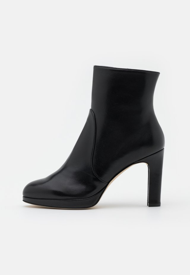 ALANI - High heeled ankle boots - black