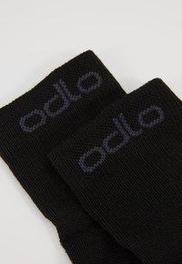 ODLO - SOCKS QUARTER ACTIVE 2 PACK - Sportovní ponožky - black - 2