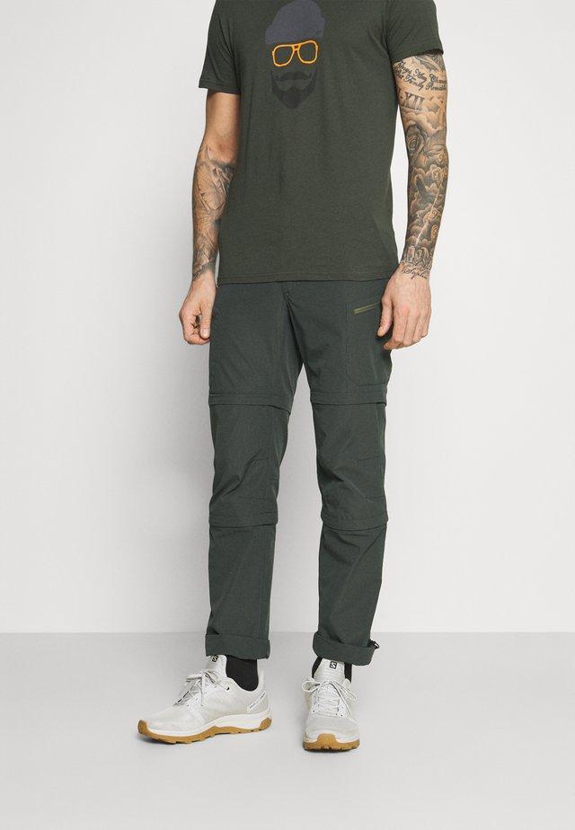 BRAIDWOOD - Kalhoty - dark green