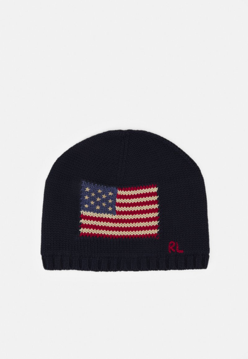 Polo Ralph Lauren - FLAG HAT APPAREL ACCESSORIES UNISEX - Mütze - hunter navy
