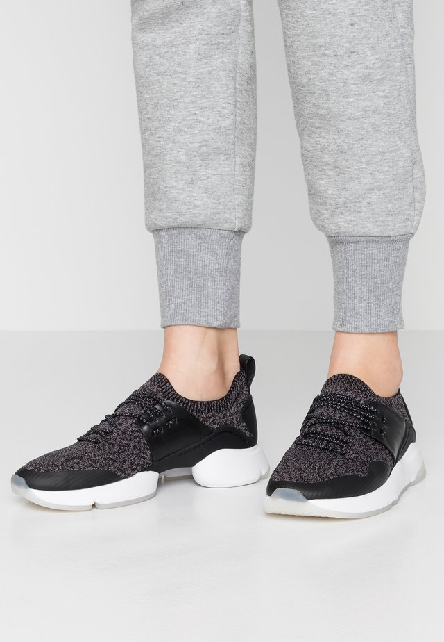 ZEROGRAND MOTION STITCHLITE TRAINER - Sneakers basse - black/optic white