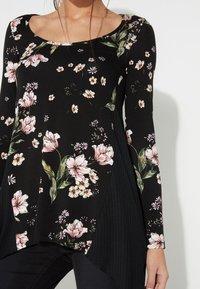 Tezenis - Long sleeved top - nero st.floral bouquet - 3