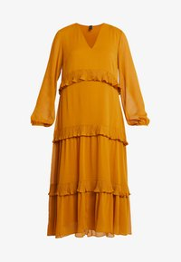 YAS - YASESTELLE LONG DRESS - Denní šaty - buckthorn brown - 4