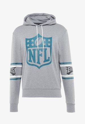 NFL BADGE HOODY - Pelipaita - grey