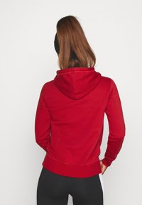 Champion - ESSENTIAL HOODED LEGACY - Mikina skapucí - dark red - 2