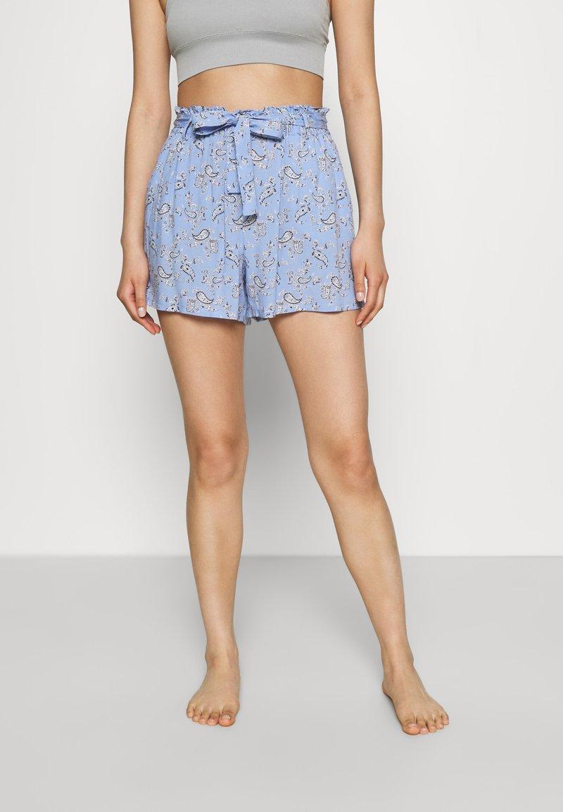 Etam - SHORT - Bas de pyjama - bleu