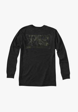 MN 66 SUPPLY LS - Print T-shirt - black