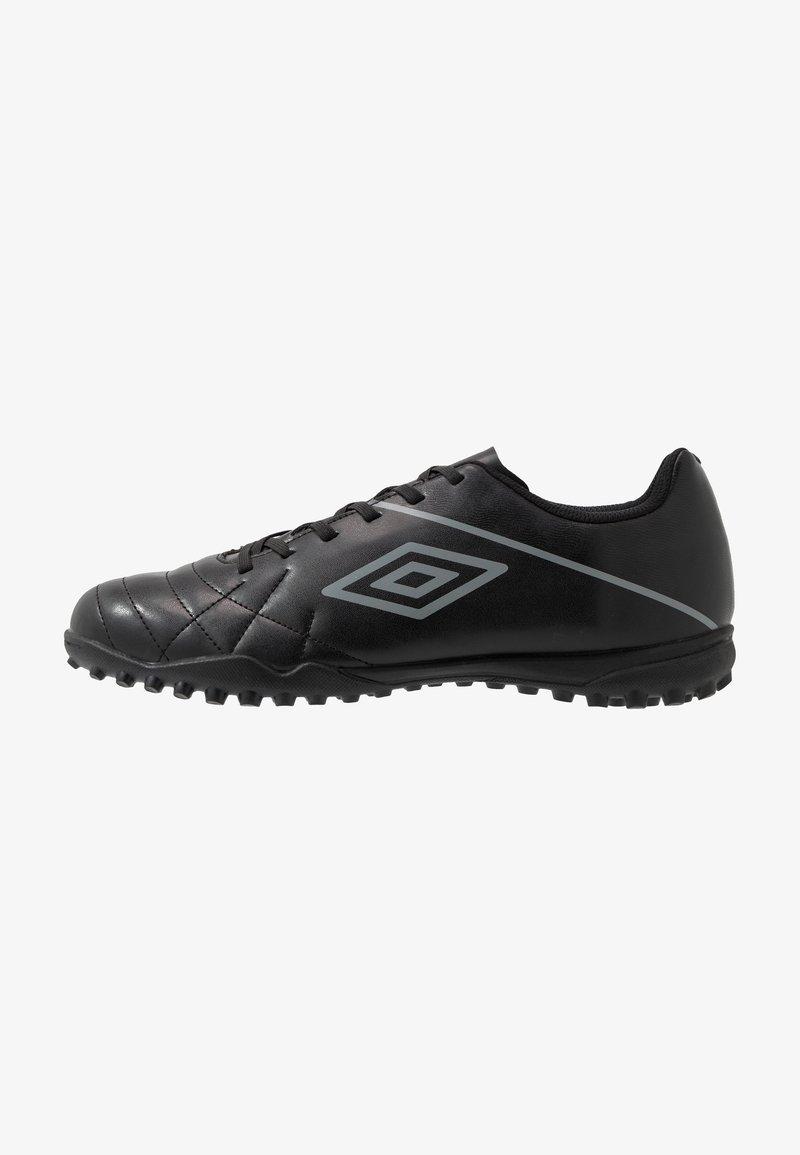 Umbro - MEDUSÆ III LEAGUE TF - Scarpe da calcetto con tacchetti - black/carbon