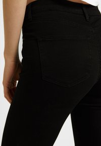 Topshop - LEIGH NEW - Jeans Skinny Fit - black - 3