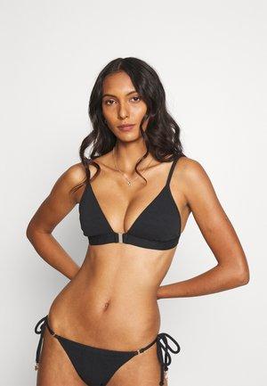 SEASIDE SOIREE FIXED  - Bikini top - black