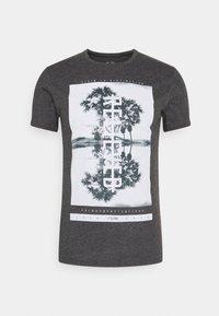KURZARM - T-shirt con stampa - black